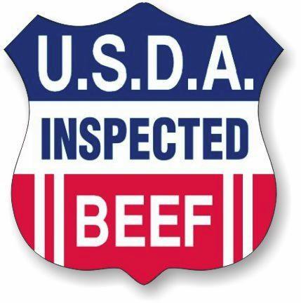 USDA inspected beef